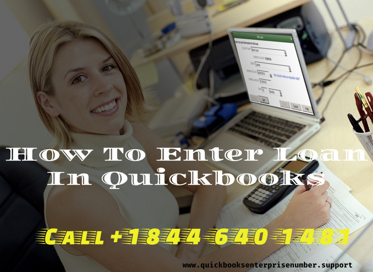 QuickBooks Set Up Loan
