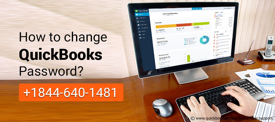 How to change QuickBooks password