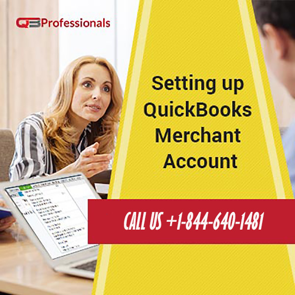 Setting up QuickBooks Merchant Account