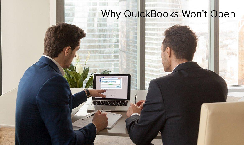 Why QuickBooks Won't Open