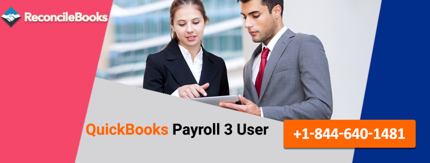 QuickBooks Payroll 3 User