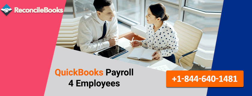 QuickBooks Payroll 4 Employees