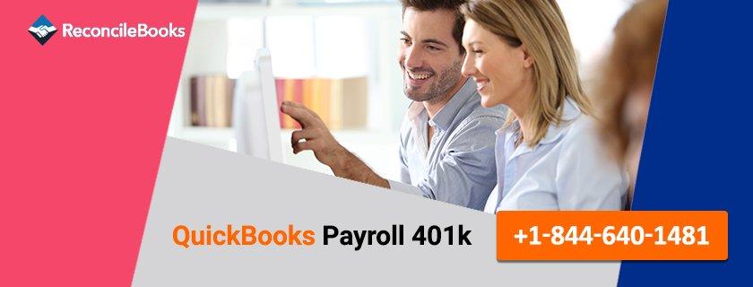 QuickBooks Payroll 401k