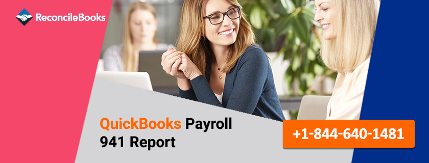 QuickBooks Payroll 941 Report