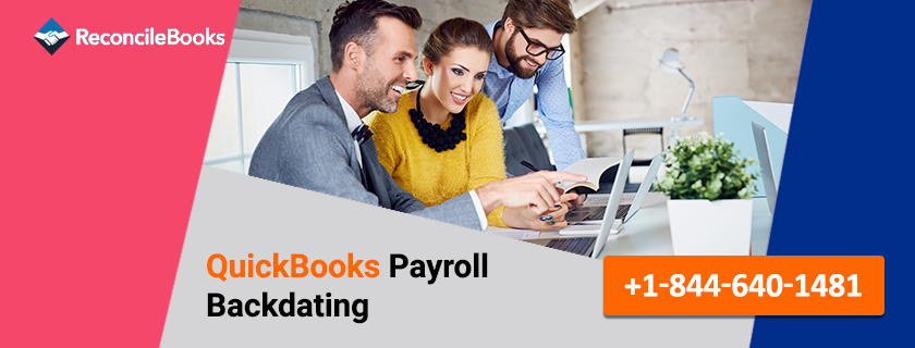 QuickBooks Payroll Backdating