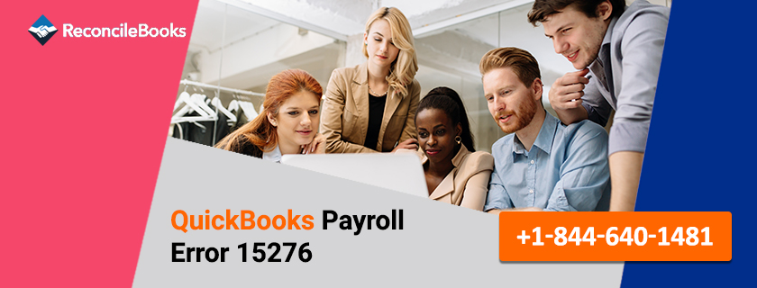 QuickBooks Payroll Error 15276