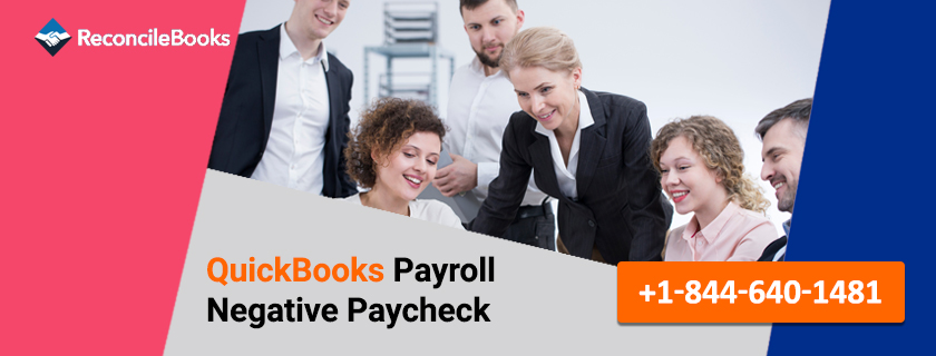 Make Negative Payroll Check QuickBooks Payroll
