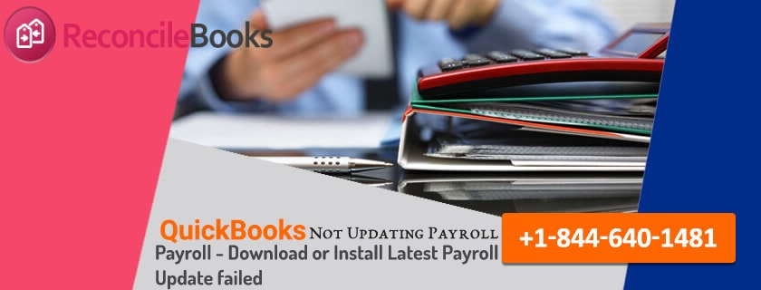 QuickBooks Payroll Not Updating