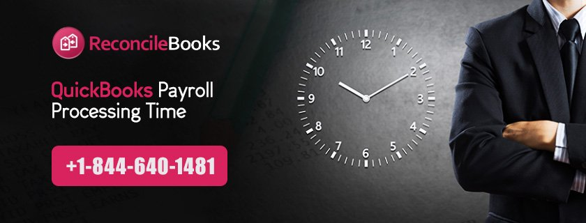 QuickBooks Payroll Processing Time