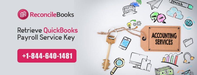 Retrieve QuickBooks Payroll Service Key