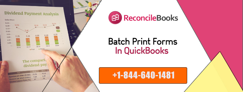 QuikBooks Bath Printing of Forms