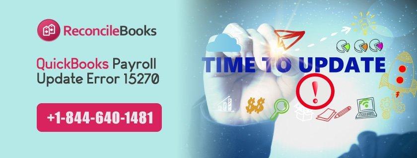 QuickBooks Payroll Error 15270