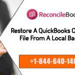 Restore QB Desktop Company File