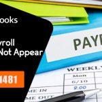 QuickBooks Payroll Item List Not Found