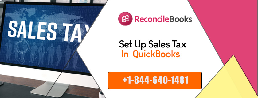 Set Up Sales Tax In QuickBooks