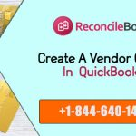 Enter Vendor Credit in QuickBooks
