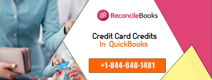 Credit Card Credits In QuickBooks