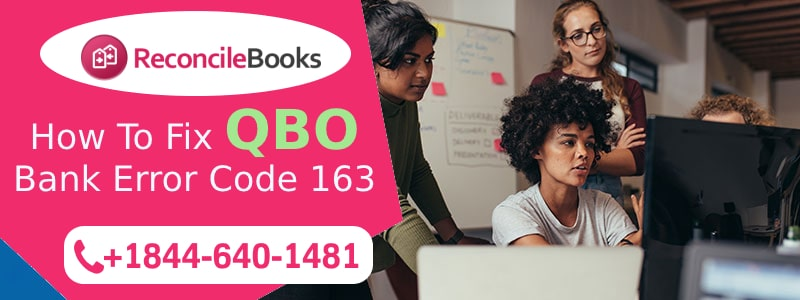 QuickBooks Online Error Code 163