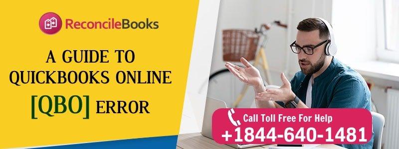List of QuickBooks Online Errors