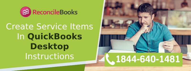 Create Service Items in QuickBooks