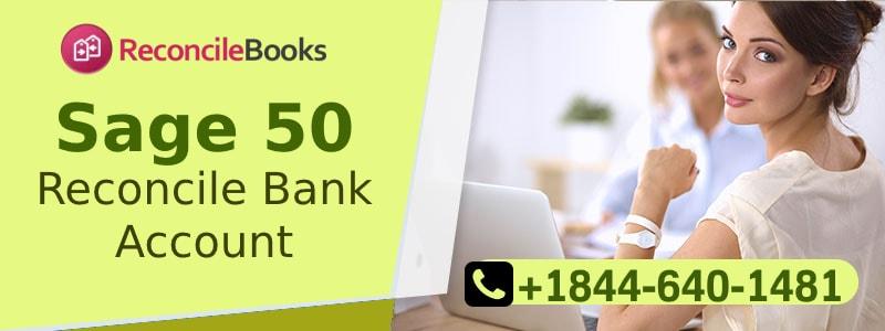 Reconcile Bank Sage 50