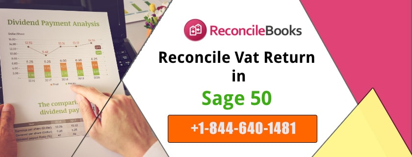 Process For Reconciling Vat Return Sage 50 Accounting