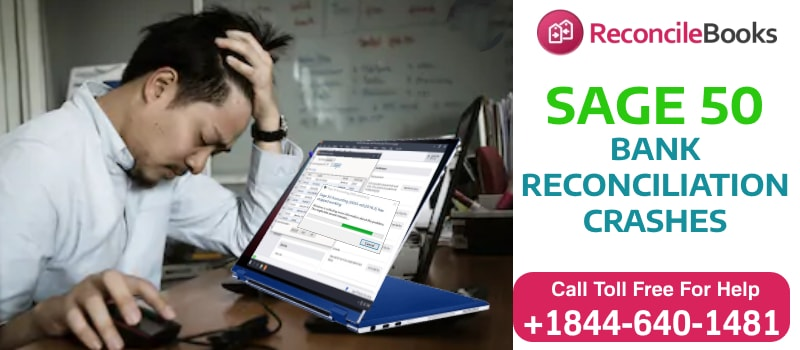 Sage 50 Bank Reconciliation Crashing Error