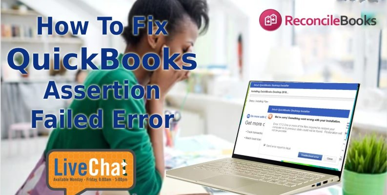 Assertion Failed QuickBooks Point Of Sale Error